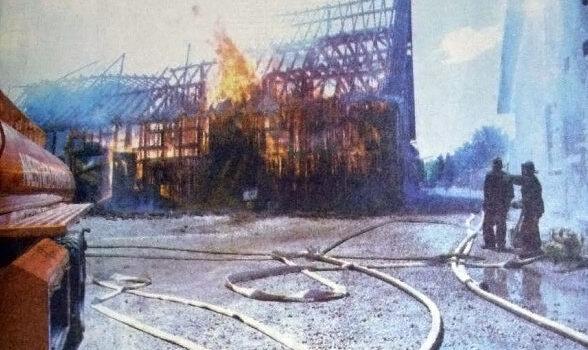 Raunstrup og Holmegårds kamp mod ilden