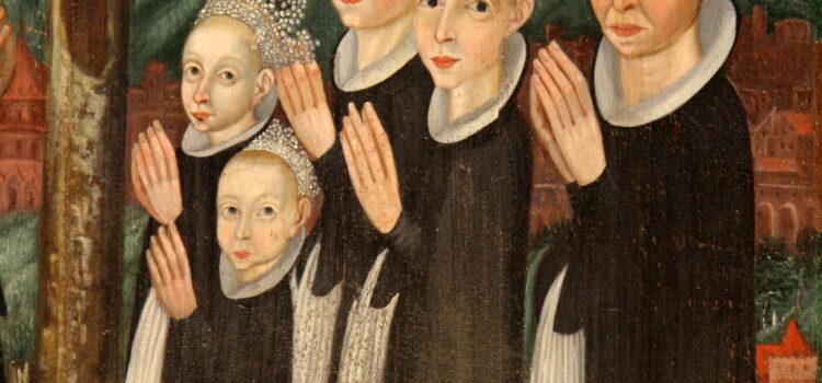 Barnedragter i 15- og 1600-tallet